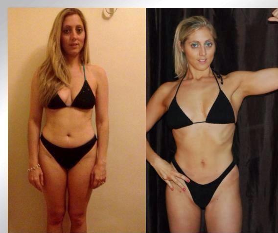 em before & after